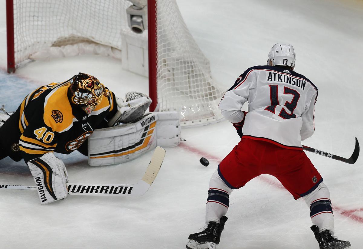 Tuukka Rask Racks Up Another Save For Bruins