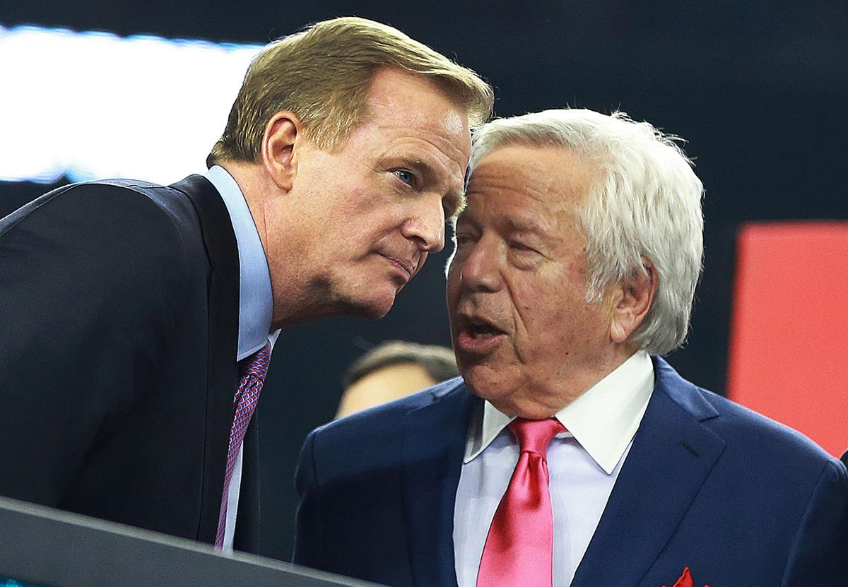 83fd00502 Expect rules, not Robert Kraft case, to be on NFL owners' agenda this week