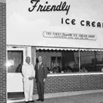 Presley (right) and Curtis Blake opened their first ice cream shop in Springfield during the Great Depression in 1935.