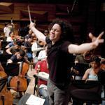 Gustavo Dudamel, music director of the Los Angeles Philharmonic, is a leader in the El Sistema philosophy.