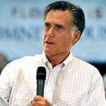 Republican presidential candidate Mitt Romney spoke at a town hall meeting yesterday in Florida.