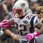 Stevan Ridley thought he might have a breakout game against Oakland, and he did (10 carries, 97 yards, a 33-yard TD).
