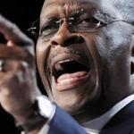 Atlanta businessman Herman Cain is running almost even in polls with Mitt Romney.