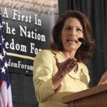 Representative Michelle Bachmann has visited New Hampshire twice since launching her presidential campaign in June.