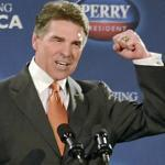 ''It is time to pass a tax that is flat and fair, that frees our employers and our people to invest, grow, and prosper,'' Governor Rick Perry said yesterday as he unveiled his plan in South Carolina. Perry has seen his support crumble since he entered the race in August.