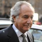 Disgraced financier Bernard Madoff is shown here in 2009 before he pled guilty to charges in connection with a Ponzi scheme he ran.