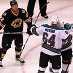 The Bruins suffered their fifth loss of their first eight games when they last stepped on the ice against the Sharks on Saturday.