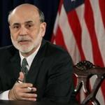 Federal Reserve Chairman Ben Bernanke spoke at a press briefing at the Federal Reserve building today.