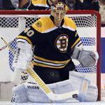 Bruins goalie Tuukka Rask stopped 24 shots to earn his first win of the season.