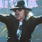Axl Rose (pictured in Atlanta earlier this month) led the latest version of Guns N' Roses in a nearly three-hour concert at DCU Center on Friday.