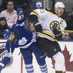 The Bruins beat the Maple Leafs, 7-0, when they last faced each other in Toronto.