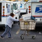 The proposed cuts would close roughly 250 of the nearly 500 mail processing centers across the country as early as next March.