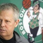 Danny Ainge has been very coy about his plans for Thursday's NBA draft.