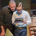 "Barlow Adamson (left) and Andrew Cekala in New Repertory Theatre's production of ""A Christmas Story.''"