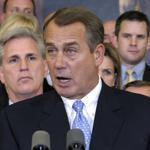 House Speaker John Boehner urged President Obama to support additional House and Senate negotiations.