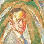 A circa 1925-30 portrait of Pemberton by Hugo Gellert.