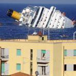 REFILE - ADDING NAME OF CRUISE SHIP A cruise ship that ran aground is seen off the west coast of Italy at Giglio island January 14, 2012. At least three people were killed and rescuers were looking for other victims on Saturday after Costa Concordia, a large Italian cruise ship, carrying more than 4,000 people ran aground overnight, took on water and tipped over. REUTERS/Stringer (ITALY - Tags: DISASTER MARITIME)