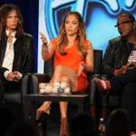 "Fox's ""American Idol'' returns with its trio of judges/personalities (from left) Steven Tyler, Jennifer Lopez, and Randy Jackson."