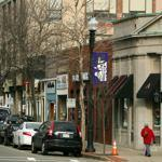 Much of the retail on Hancock Street in Quincy Center is dated and lacks appeal to shoppers from outside the community, and buildings are aged.