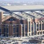 This year's Super Bowl will be held at Lucas Oil Stadium in Indianapolis.