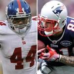 Ahmad Bradshaw and Aaron Hernandez could be key offensive weapons in Super Bowl XLVI.