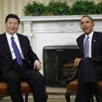 President Obama met with China's Vice President Xi Jinping in the Oval Office.