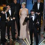 """The Artist'' won five Academy Awards on Sunday, including best picture."