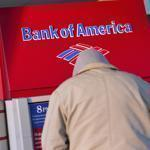 A Bank of America customer used an ATM machine at a branch in Greenville, S.C.