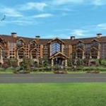 A rendering of the proposed Foxborough casino.