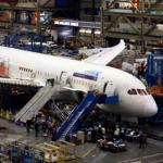 Last week at the Boeing plant in Everett, Wash., hundreds of workers scurried around four 787s in various stages of assembly.