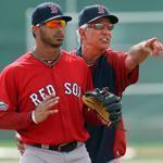 Encouraging children is part of the routine for new Red Sox manager Bobby Valentine