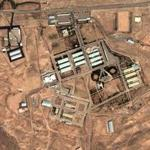 This August 13, 2004 satellite image, received courtesy of the Institute for Science and International Security, shows a view of facilities within Parchin in Iran which were said to be possibly involved in nuclear weapons research.