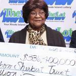 Louise White went to the store in search of rainbow sherbet and wound up buying a lottery ticket worth $336.4 million -- and put her winnings into an account labeled The Rainbow Sherbert Trust.