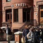 Papa Razzi was founded by Boston restaurateur Charlie Sarkis. The chain is operated by Back Bay Restaurant Group. There are seven Papa Razzi restaurants in Massachusetts, including on Newbury Street.