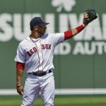 Mike Aviles has started seven of the Red Sox' 10 spring games at shortstop.