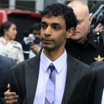Dharun Ravi left court with his father.