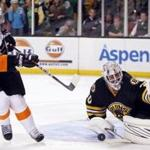 After blowing a 2-0 lead, the Bruins rallied on overtime to defeat the Flyers in a shootout.