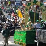 Tens of thousands of revelers descended on the streets of South Boston on Sunday for the annual St. Patrick's Day parade.