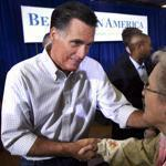 Mitt Romney said President Obama had wanted energy prices to go up, but only recently had ''an election- year conversion'' to push them down.