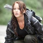 ''The Hunger Games'' stars Jennifer Lawrence as Katniss Everdeen, who is chosen to represent her district in nationally televised killing games.