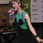 ''It is pop music, but I think there's a whole other ethical level to Grimes,'' says Claire Boucher (performing as Grimes earlier this month at South by Southwest).