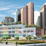 The Boston Museum has suggested a newmuseum along the Rose Fitzgerald Kennedy Greenway.