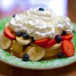 The Loaded Waffle at In a Pickle Restaurant in Waltham.