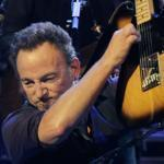 Bruce Springsteen performed Monday at TD Garden in Boston.