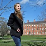 Phillips Academy student Madeleine Lippey, the founder of her own non-profit called