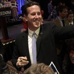 Pennsylvania holds its primary on April 24, and there has been intensifying speculation that Rick Santorum, hoping to avoid the embarrassment of losing in his own home state, would bow out of the race.