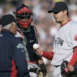 Josh Beckett was gone before the fifth inning was complete Saturday, having allowed seven runs.