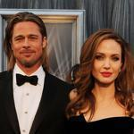 Actor Brad Pitt and actress Angelina Jolie at the 84th Annual Academy Awards in February.