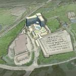 A rendering of the proposed Mashpee Wampanoag casino in Taunton. Proponents sayin it would be a boon to the economy.