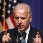 Vice President Joe Biden accused Mitt Romney of distorting President Obama's record and being inconsistent during a speech Thursday at NewYork University LawSchool.